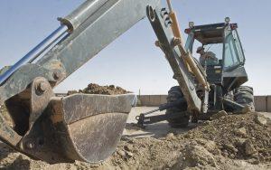 deep coonstruction requires digging